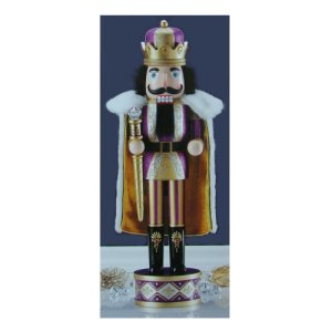 Wooden Nutcracker King 24 Inches Tall